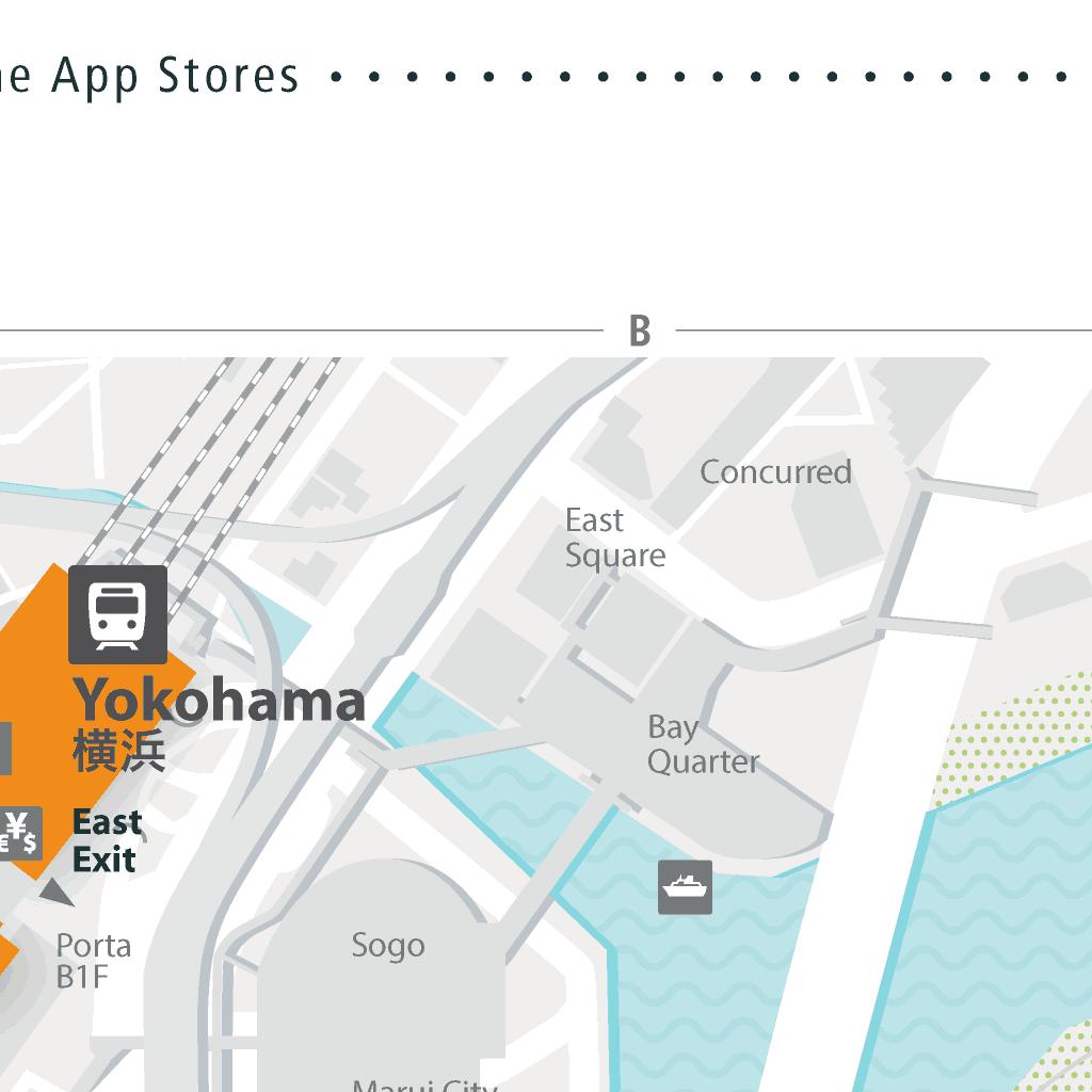 Yokohama City Map - Find Free Wifi Access, Even Offline! Download Now!