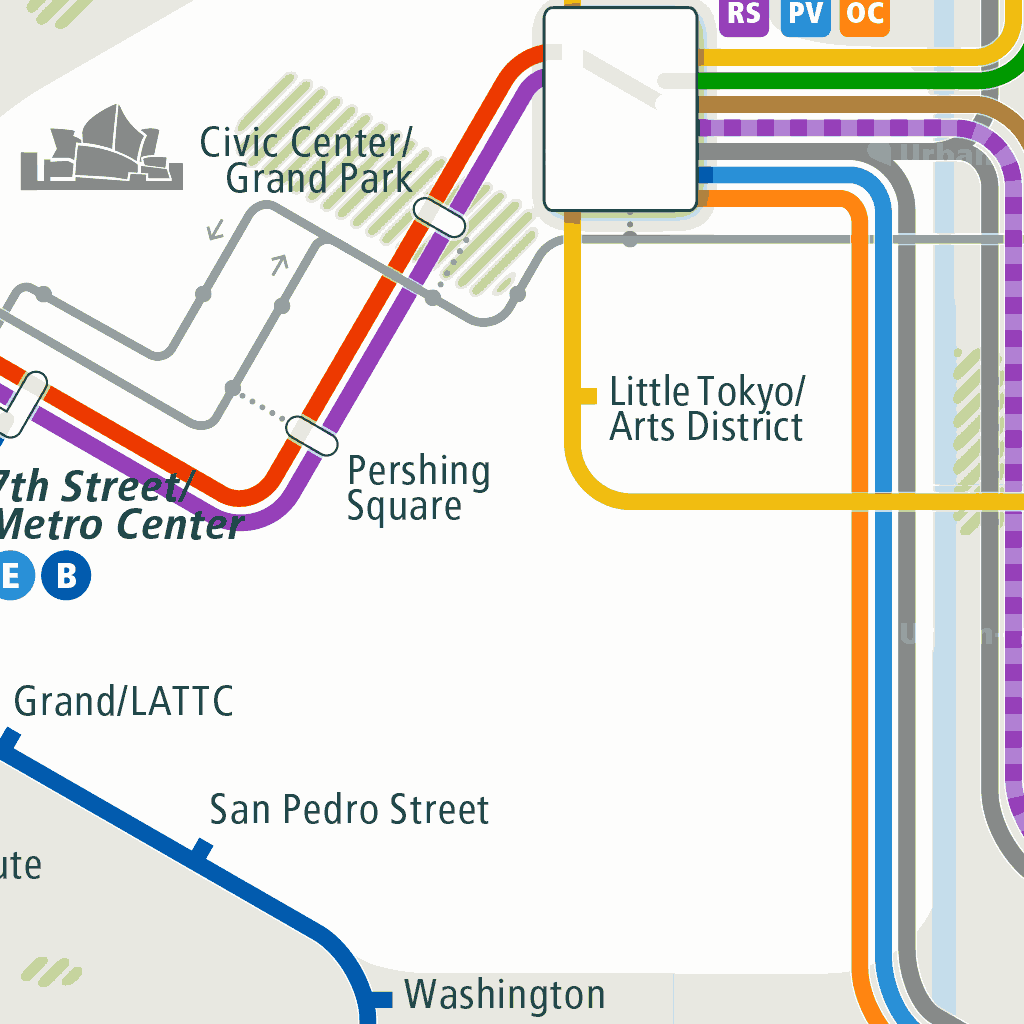 San Diego Subway Map.Los Angeles Rail Map A Smart City Guide Map Even Offline