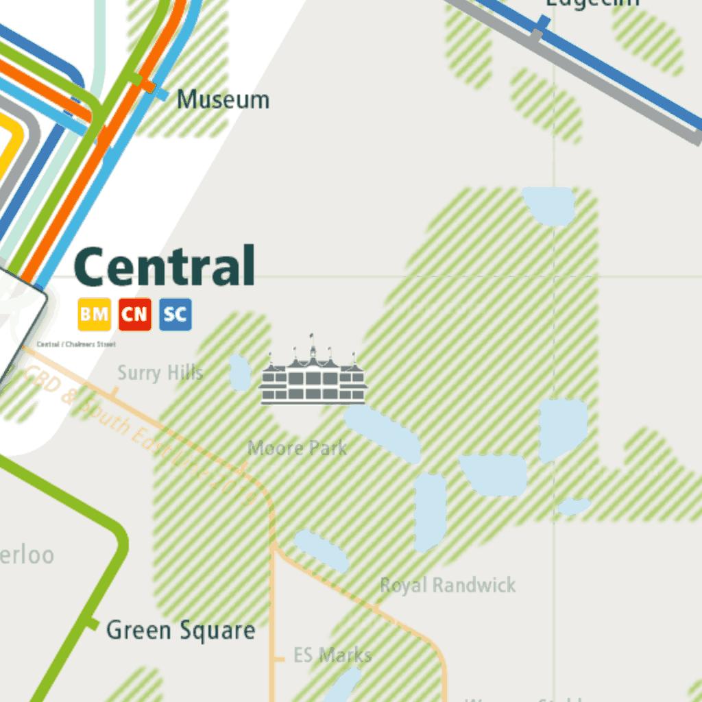 Sydney Rail Map - A Smart City Guide Map, Even Offline! on