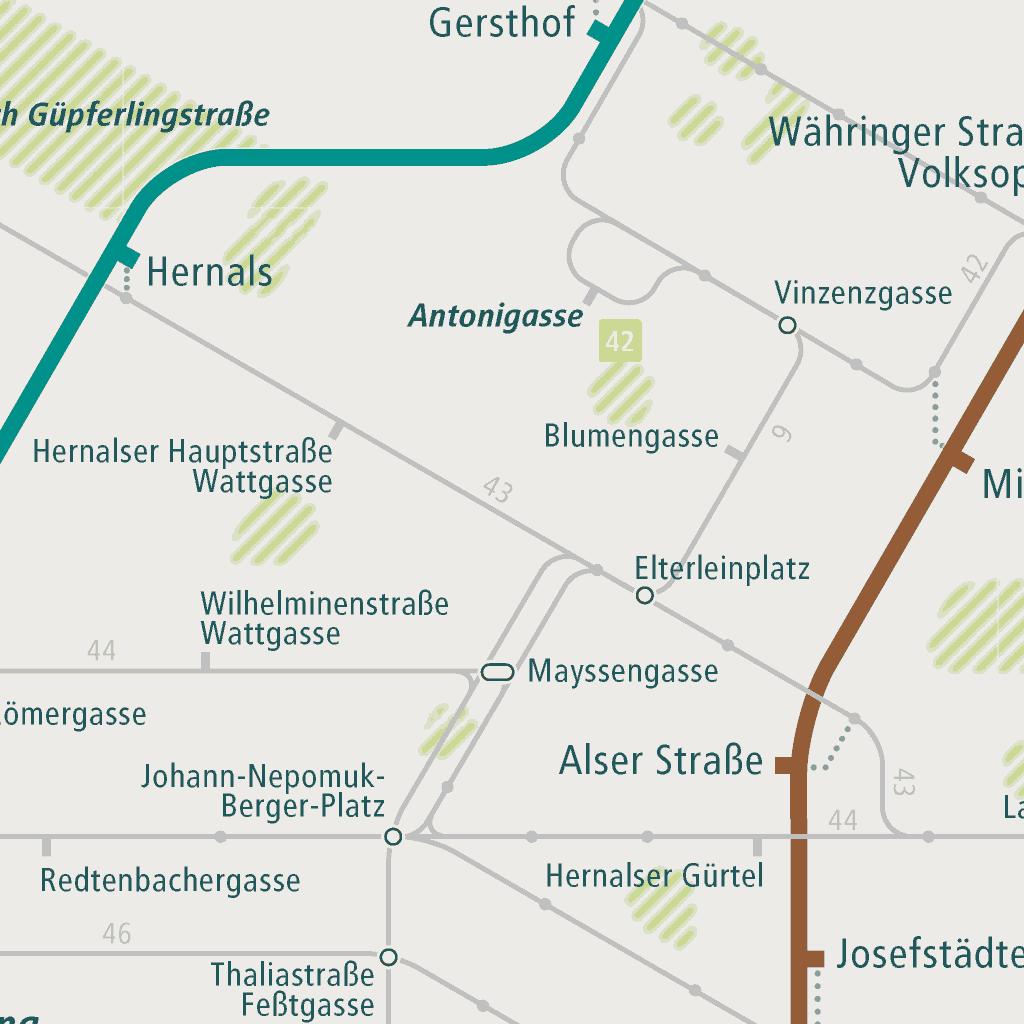 Vienna Subway Map.Vienna Rail Map A Smart City Guide Map Even Offline