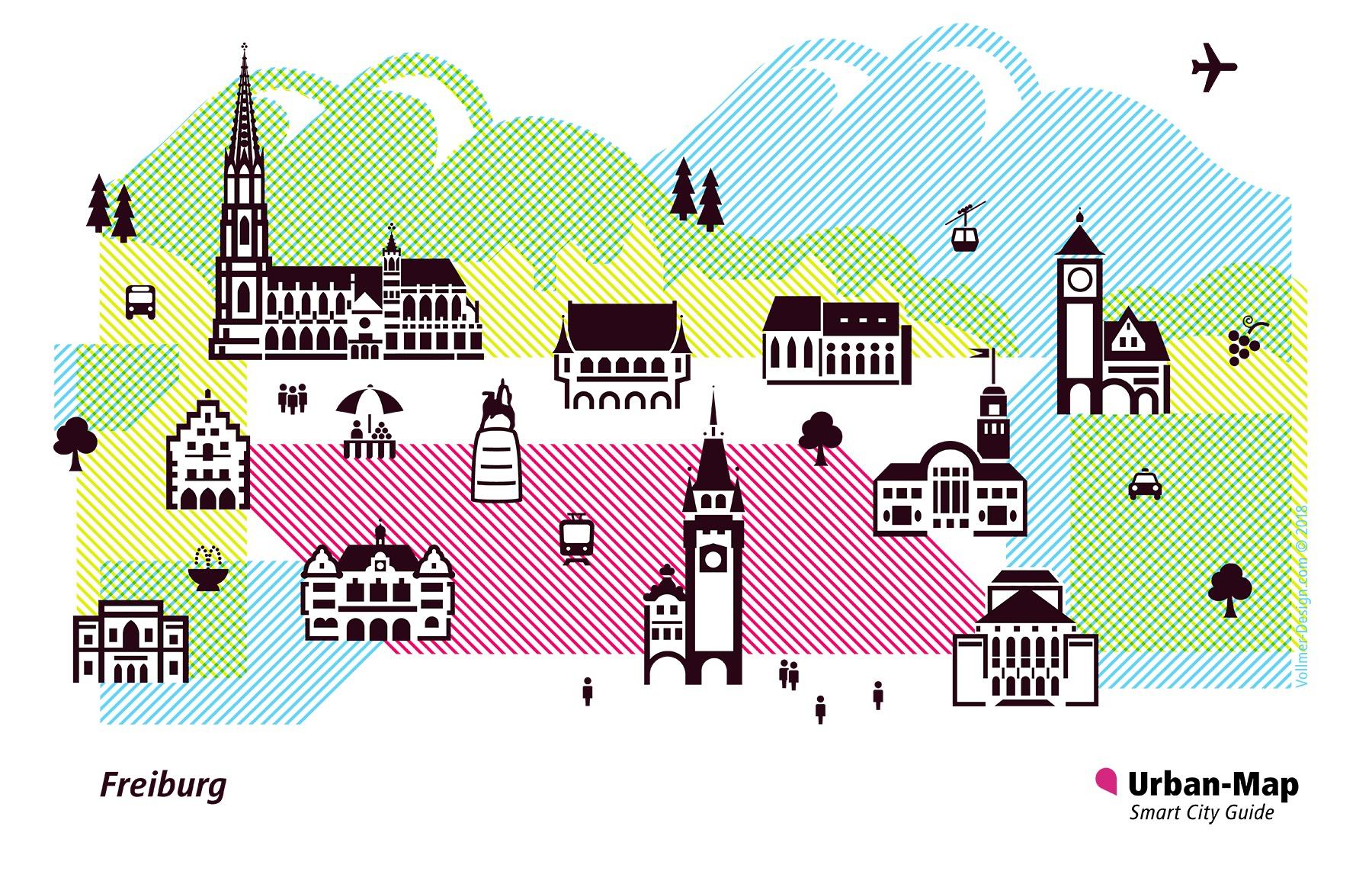Freiburg City Icons