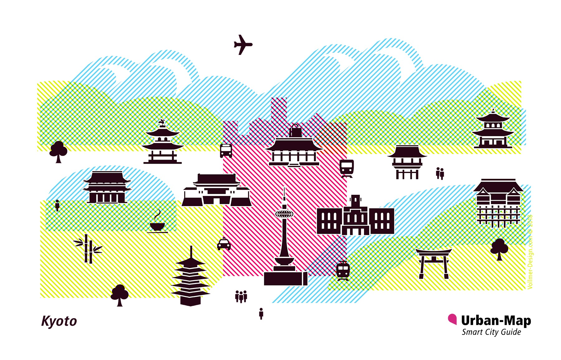 Kyoto City Icons
