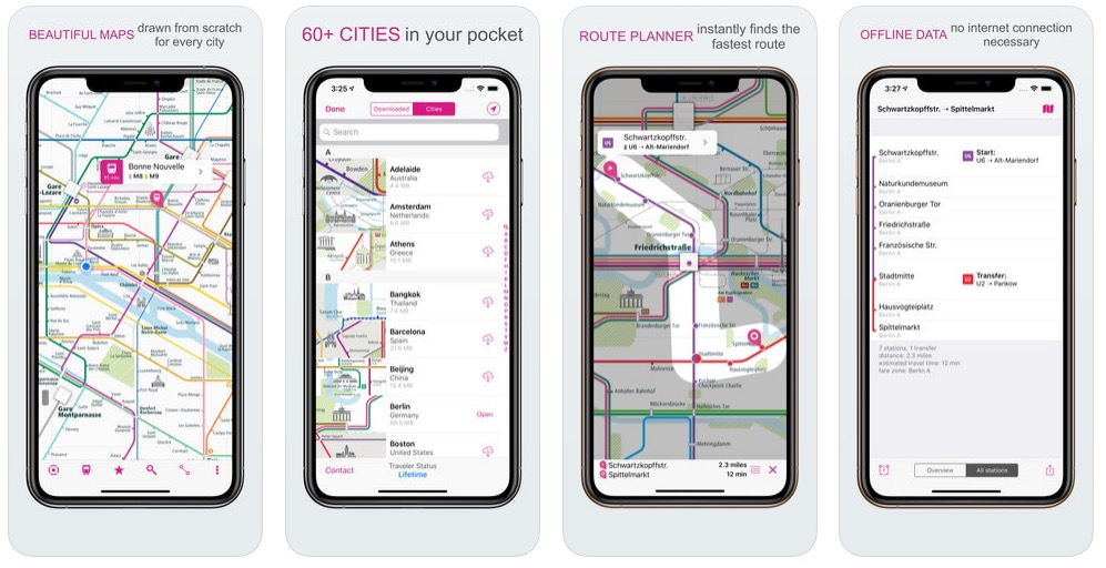 New York City Navigating Subway Map.City Rail Map A Smart City Guide Map App Even Offline