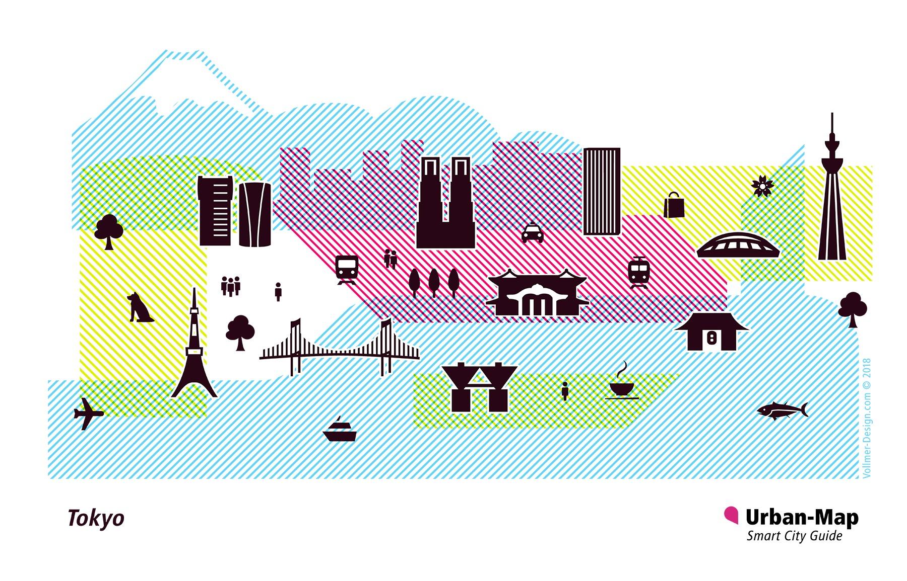 Tokyo City Icons
