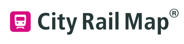 City Rail Map Logo