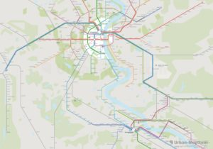 Cologne City Rail Map for train and public transportation routes of metro, tram, ferry - Cologne-Bonn