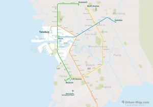 Manila Rail Map Overview