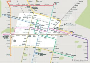 Mexico Rail Map Overview