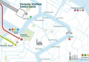 Venice Rail Map