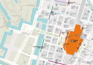 WiFiTokyo Rail Map Tokyo Station