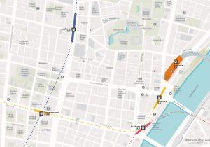WiFiTokyo City Rail Map for train and public transportation - Asakusa