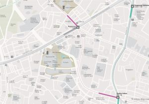 WiFiTokyo City Rail Map for train and public transportation - Roppongi